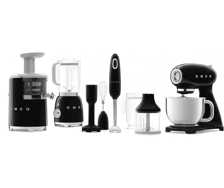 Smeg SMF03BLEU keukenmachine - zwart