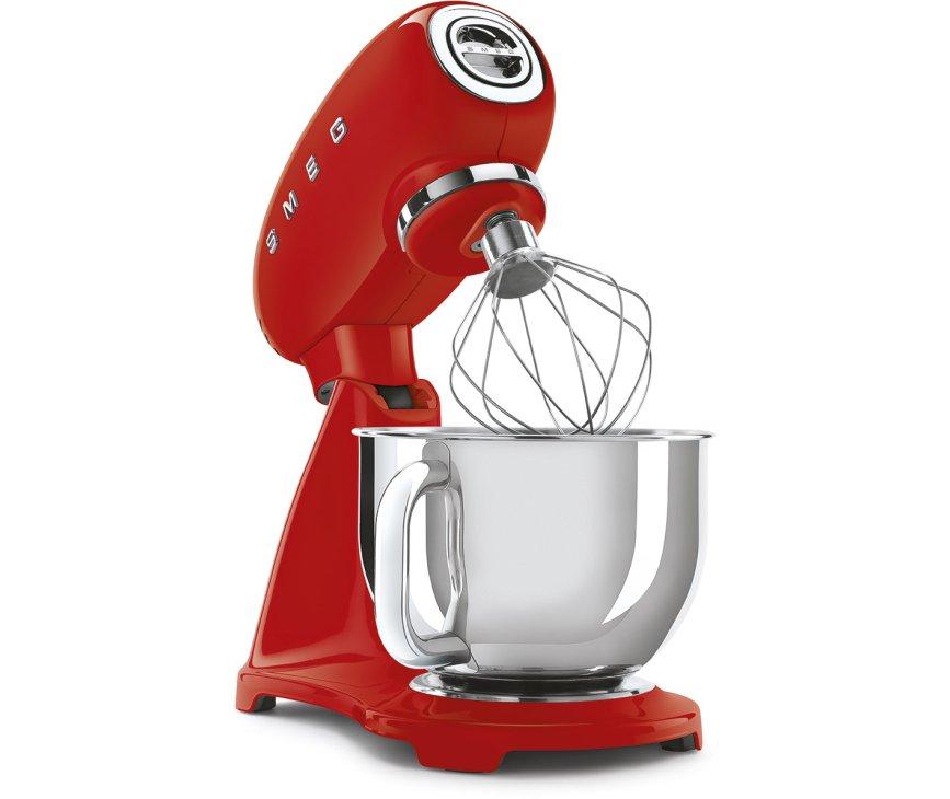 Smeg SMF03RDEU keukenmachine - rood