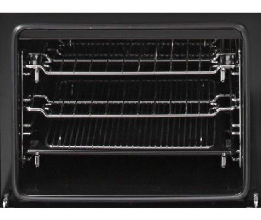 Foto van de hetelucht oven links in de Steel A12FF-6M Ascot