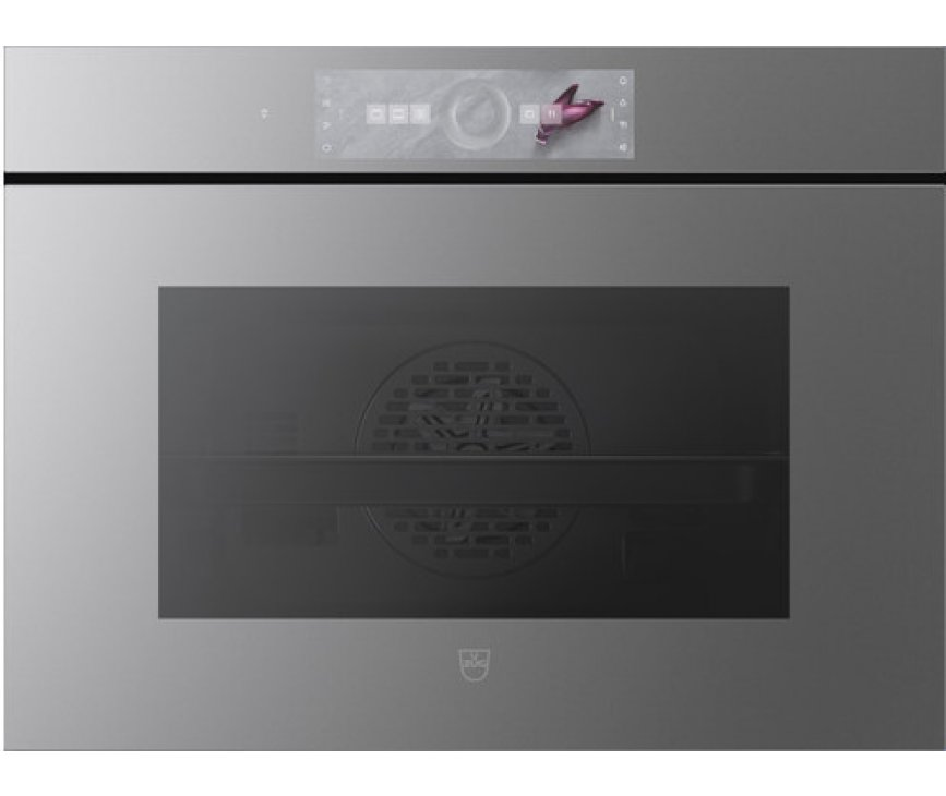 V-Zug Combair V6000 45 AutoDoor Platinum inbouw oven