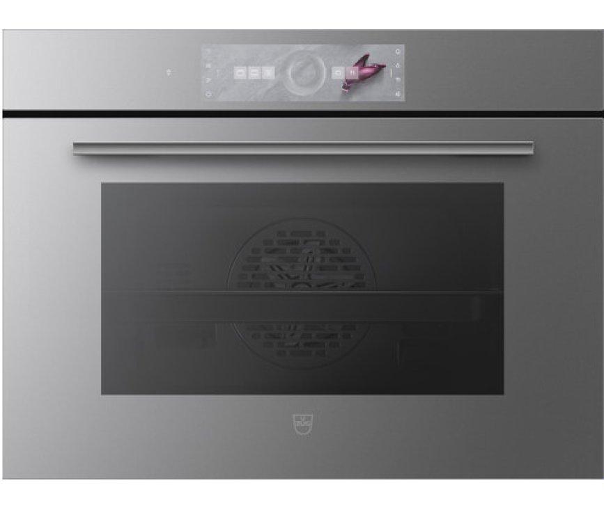 V-Zug Combair V6000 45P Platinum inbouw oven met pyrolyse