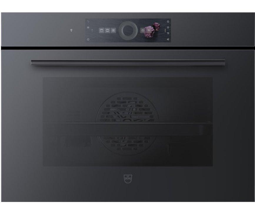 V-Zug Combair V6000 45P Zwart Glas inbouw oven