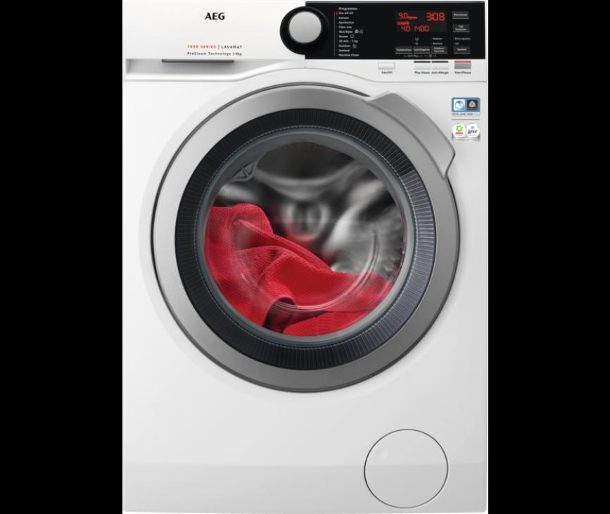 AEG L7FBSTEAM wasmachine - 9 kg vulgewicht - 1600 toeren