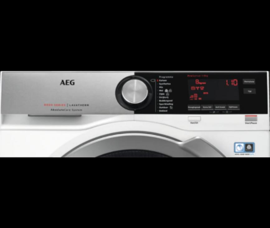 Aeg T8DE84CS warmtepomp droger - 8 kg.