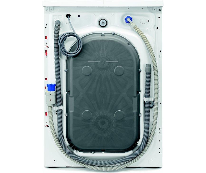 De achterzijde van de Aeg L76495NFL wasmachine
