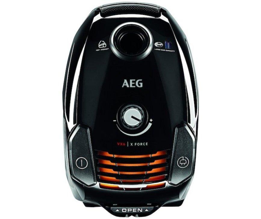 AEG VX6-2-EB-C zwarte stofzuiger - 800 Watt