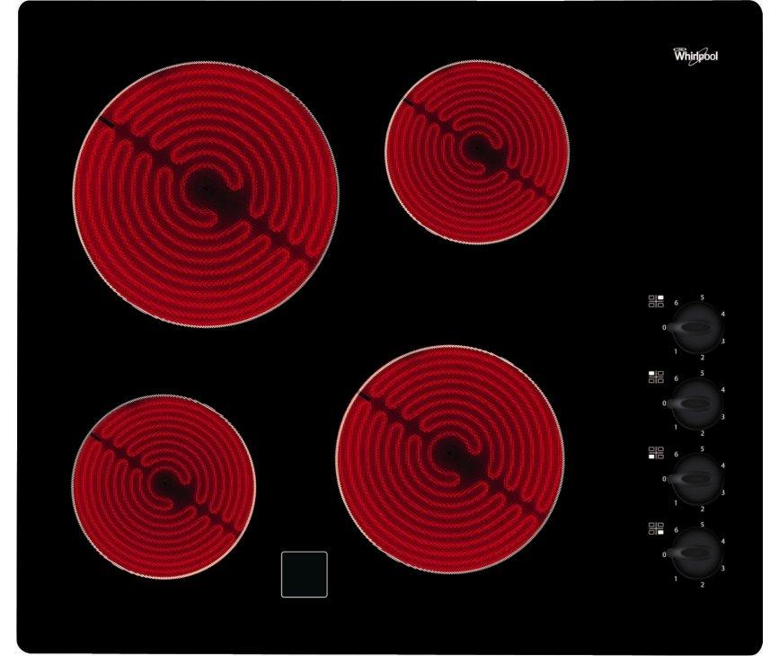 Whirlpool AKM9010NE keramische kookplaat