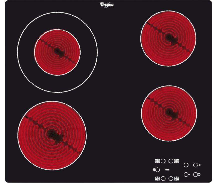 Whirlpool AKT8130NE keramische kookplaat