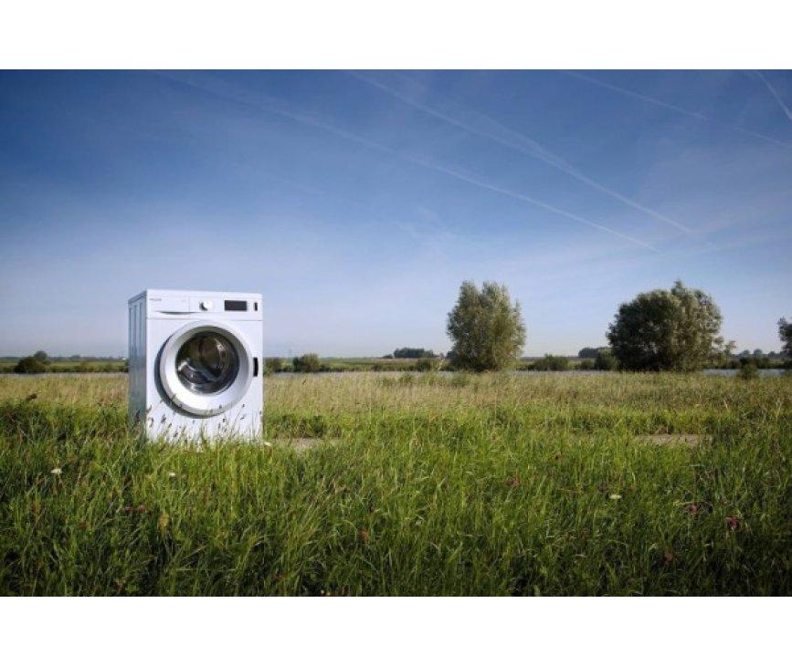 De Alluxe WK3241 wasmachine is met energielabel A+++ uitermate energiezuinig