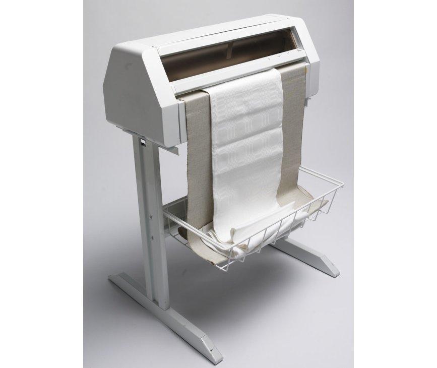 De Asko CI700 uitgevoerd met onderstel en geschikt voor het ontkreuken van uw vlak wasgoed