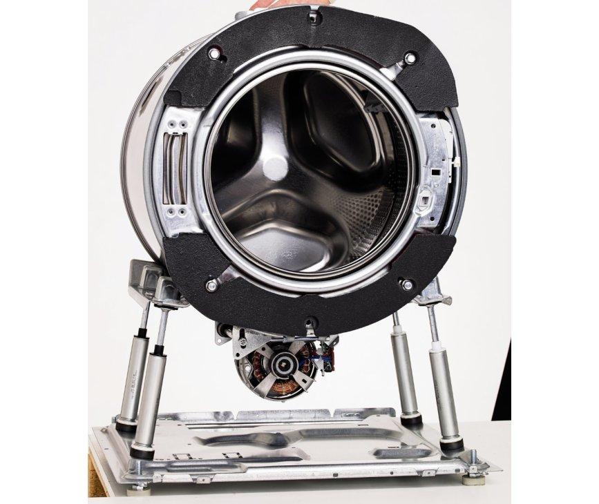 De kwaliteit is nog verder verbeterd: Rvs trommel, rvs kuip en natuurlijk het quattro systeem.
