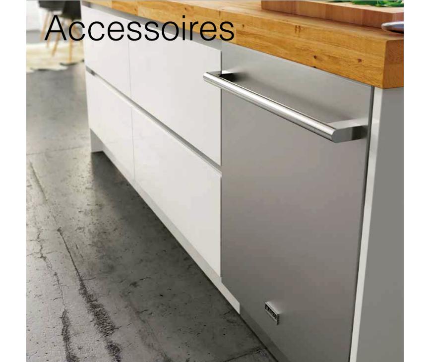 De ASKO Pro Series voorzetdeur kan eenvoudig op een Asko volledig geintegreerde inbouw vaatwasser gemonteerd worden.