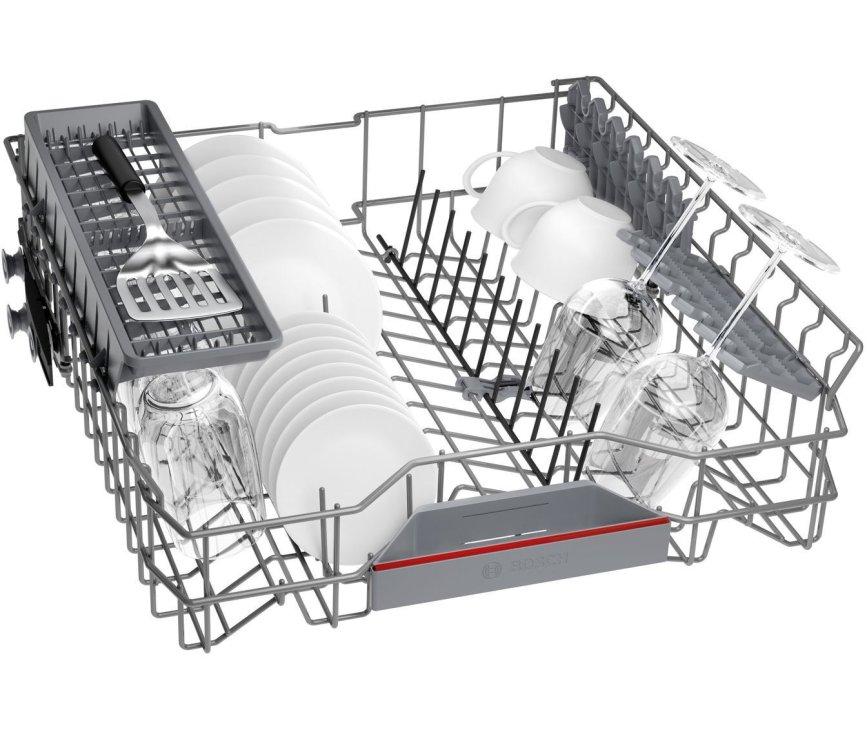 Bosch SBV4HAX40N verhoogde inbouw vaatwasser - 46 dB