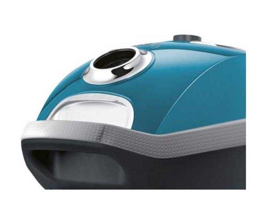 De Bosch BGL8430 is voorzien van een stootrand rondom ter bescherming van uw stofzuiger en meubels