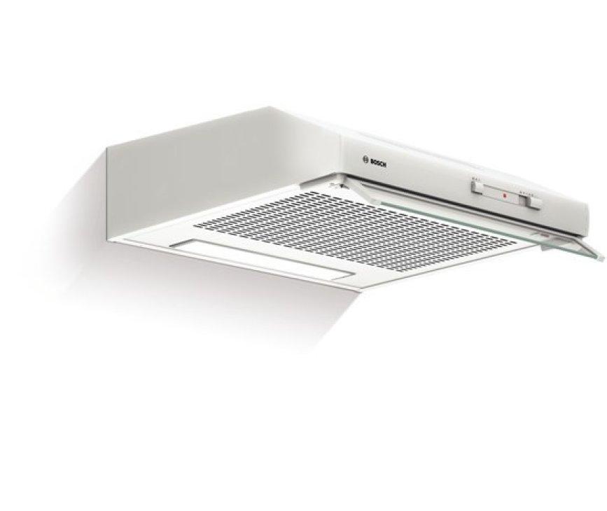 De Bosch DHU642D onderbouw afzuigkap wit heeft een afzuigcapaciteit van 240 m3/uur