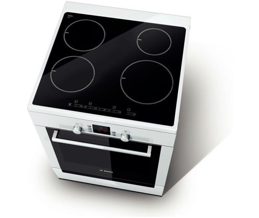 Het Bosch HCE748223 fornuis wit beschikt over 8 ovensystemen