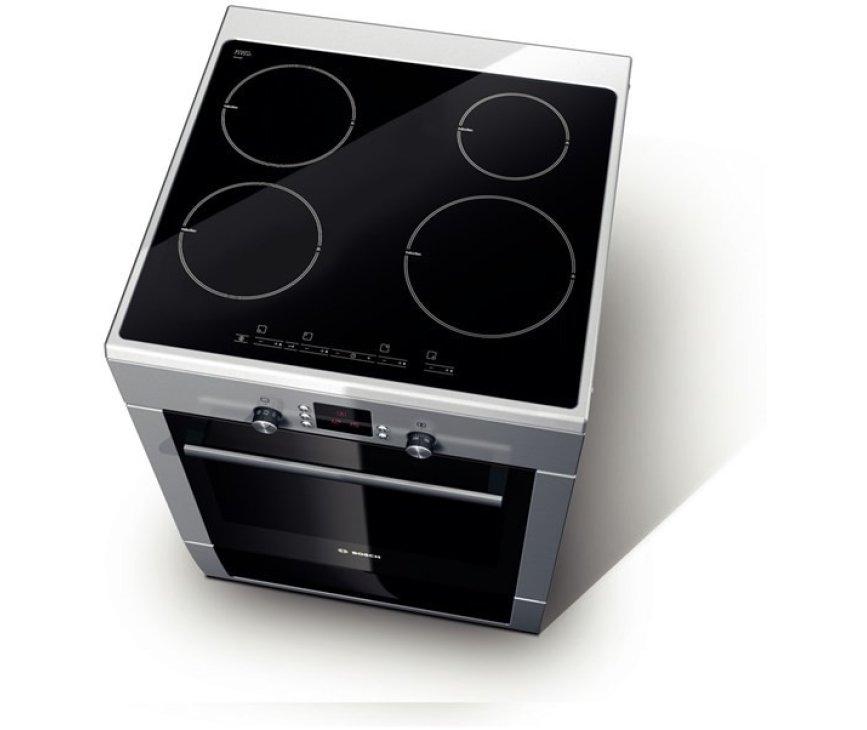 Het Bosch HCE748453 fornuis RVS beschikt over 8 ovensystemen