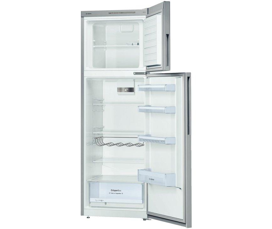 De binnenzijde van de Bosch KDV33VL30 koelkast RVS-look
