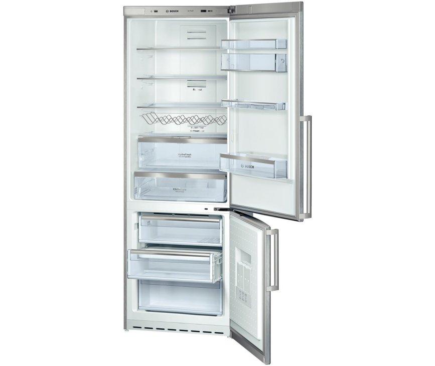 De Bosch KGN49AI22 koelkast RVS heeft een inhoud van 399 liter
