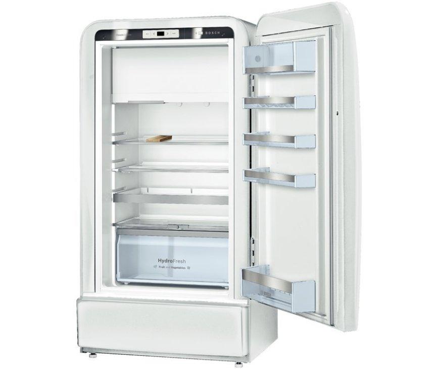 De binnenzijde van de Bosch KSL20AW30 koelkast wit