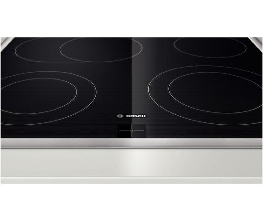 De Bosch NKH645G17M keramische kookplaat is