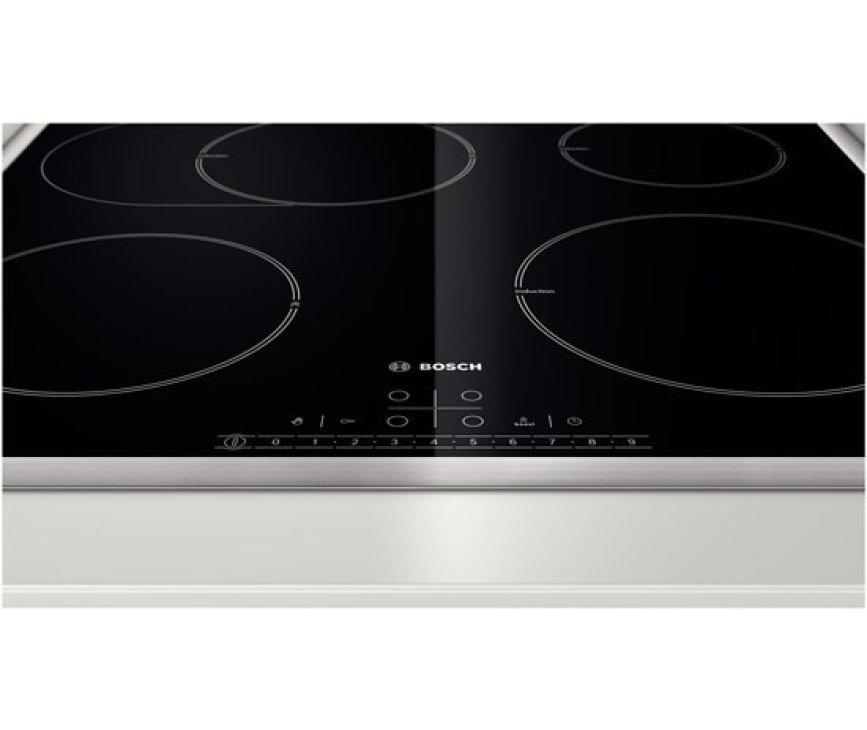 De Bosch PIB645F17M inductie kookplaat beschikt over 17 standen