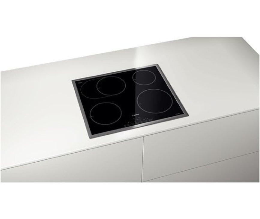 De Bosch PIB645F17M inductie kookplaat beschikt over DirectSelect