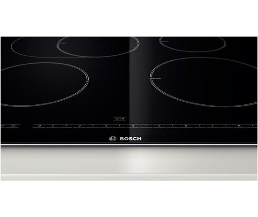 De Bosch PIB775N17E inductie kookplaat beschikt over 17 standen