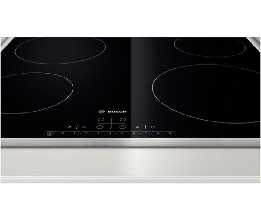 De Bosch PKE645F17E keramische kookplaat is