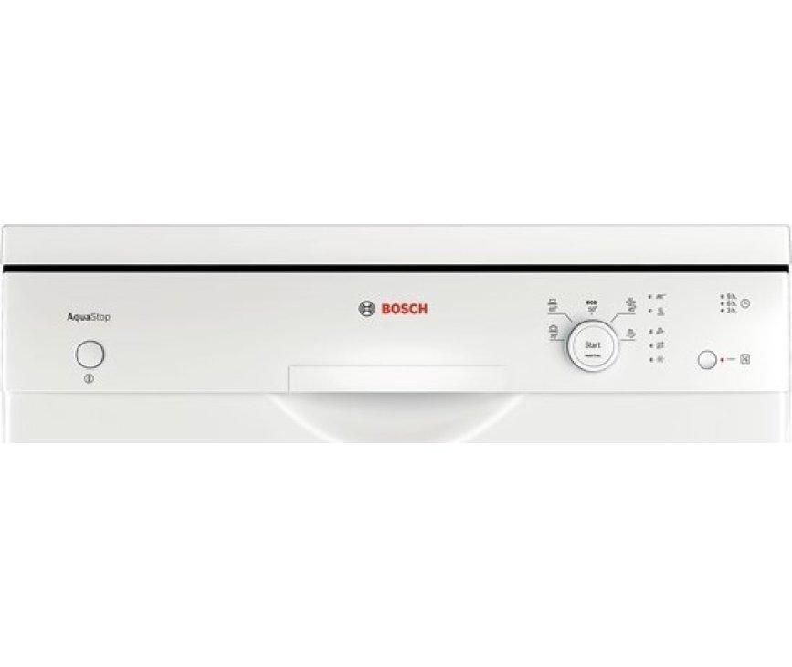 De Bosch SMS50D12EU vaatwasser beschikt over een digitaal bedieningspaneel