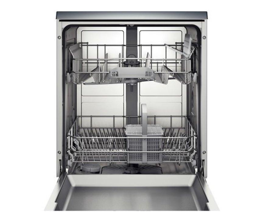 De Bosch SMS50D42EU vaatwasser vrijstaand heeft een capacitiet van 12 standaard couverts