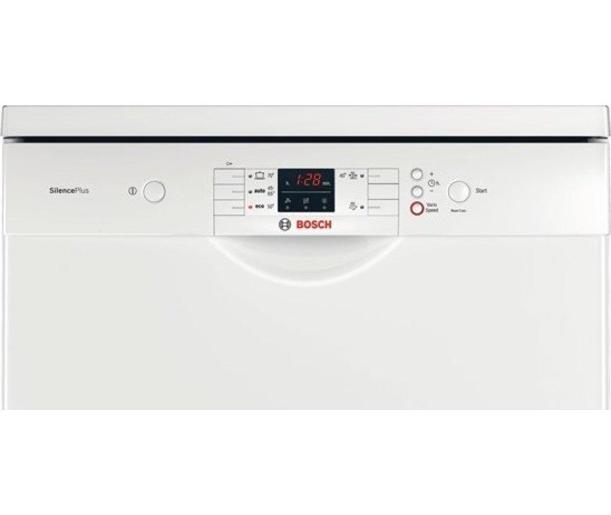 De Bosch SMS50L02EU vaatwasser vrijstaand beschikt over een digitaal bedieningspaneel