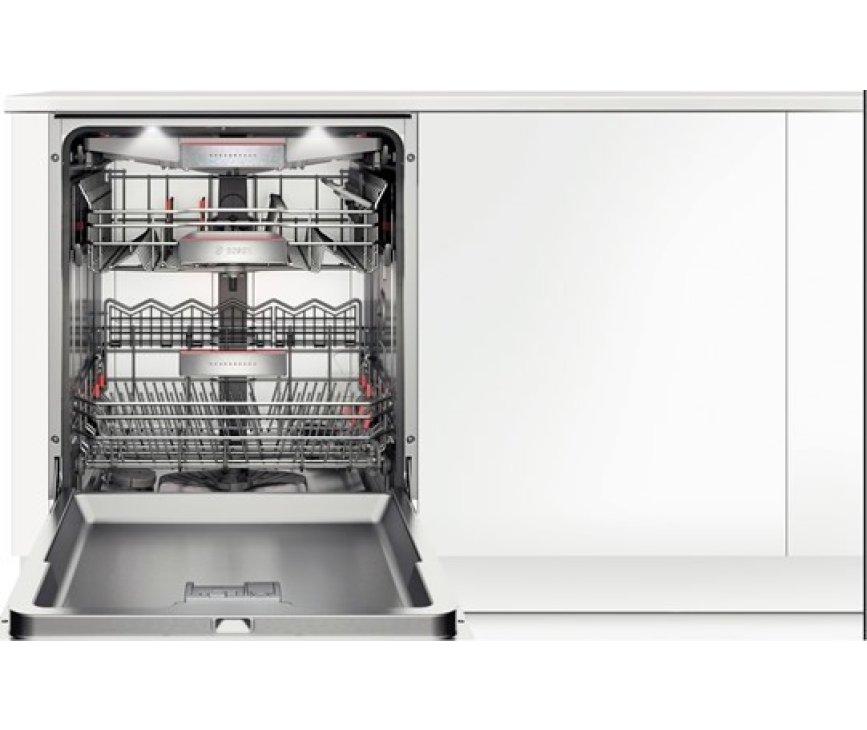 De Bosch SMS88TI03E vaatwasser vrijstaand heeft een capaciteit van 14 standaard couverts