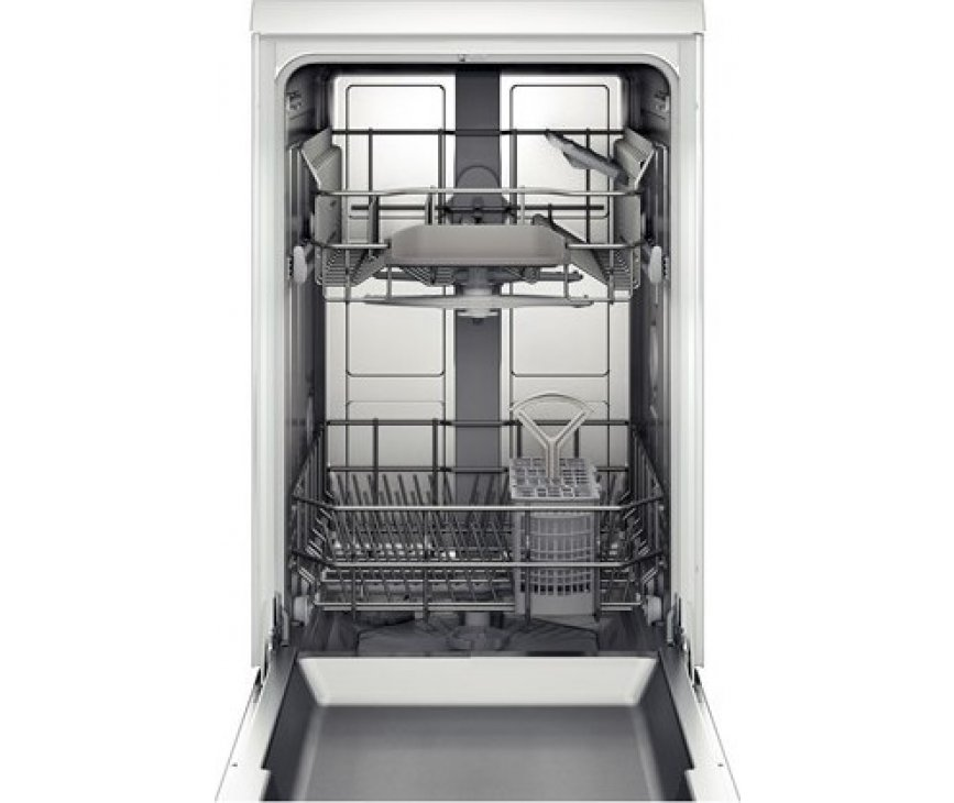 De Bosch SPS40E22EU smalle vaatwasser heeft een capaciteit van 9 standaard couverts