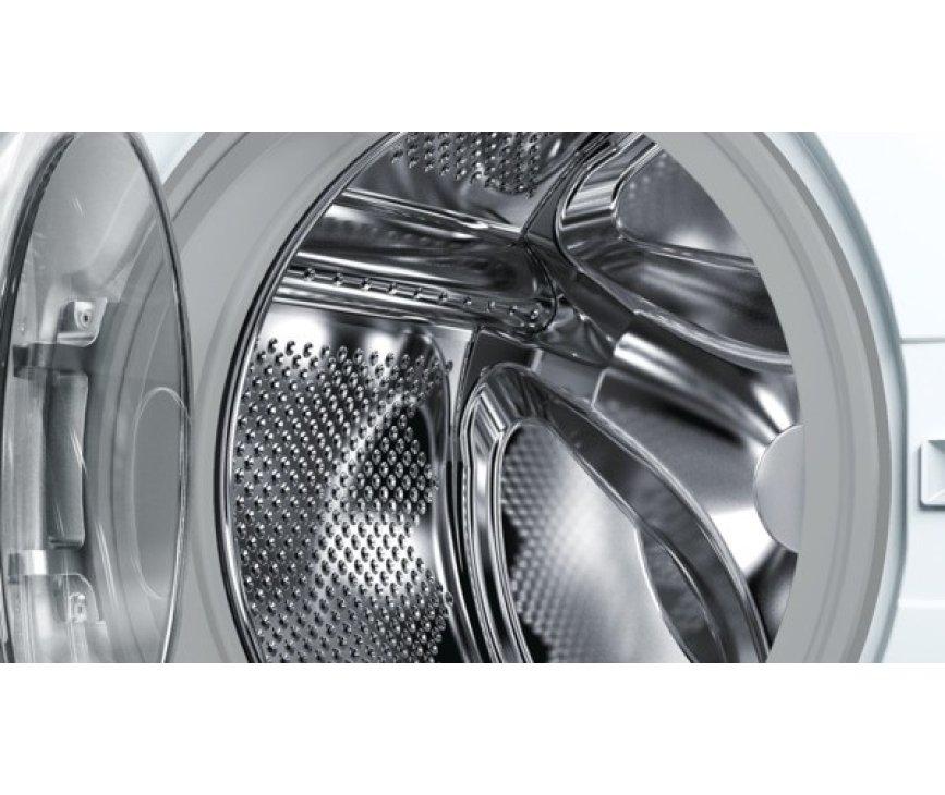 De Bosch WAE28448NL wasmachine is volledig elektrisch en sensor gestuurd