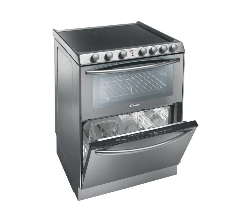 De Candy TRIO 9503 1X combineert afwassen met koken en bakken