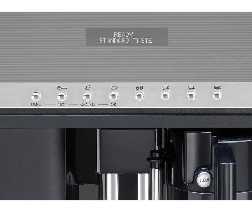 Het bedieningspaneel van de Smeg CMSC451