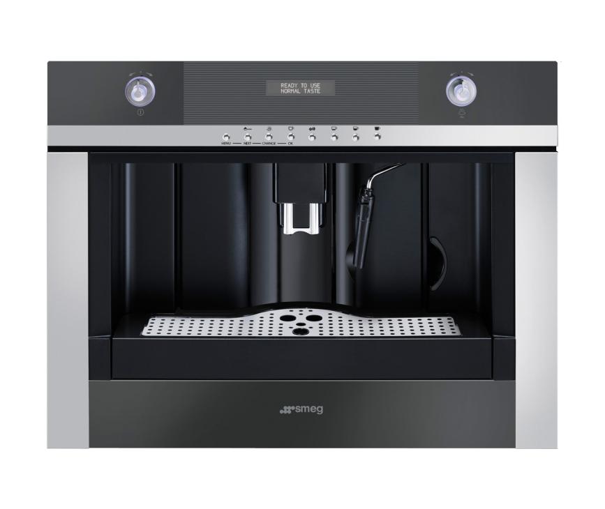 SMEG koffiemachine zwart CMSC45NE