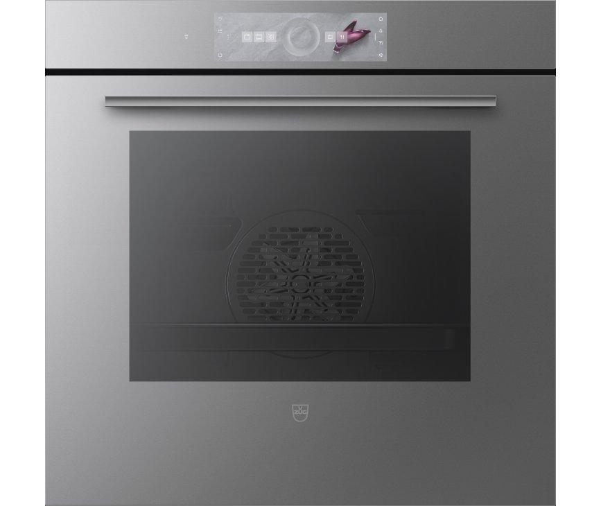 V-Zug Combair V4000 60 inbouw oven - platinum spiegelglas