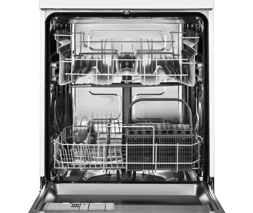De Electrolux ESI5201LOX inbouw vaatwasser heeft een capaciteit van 13 couverts