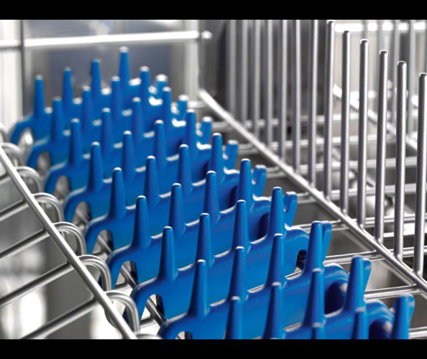 De rubberen spikes in de Electrolux ESL7220RO inbouw vaatwasser beschermen uw glaswerk