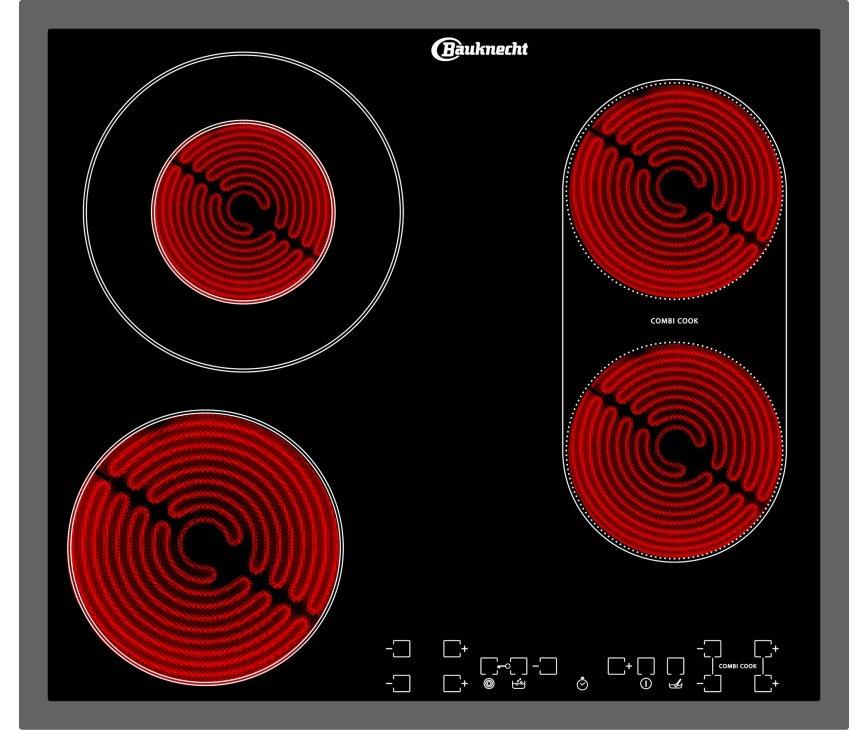 Bauknecht ETCF8640IN keramische kookplaat