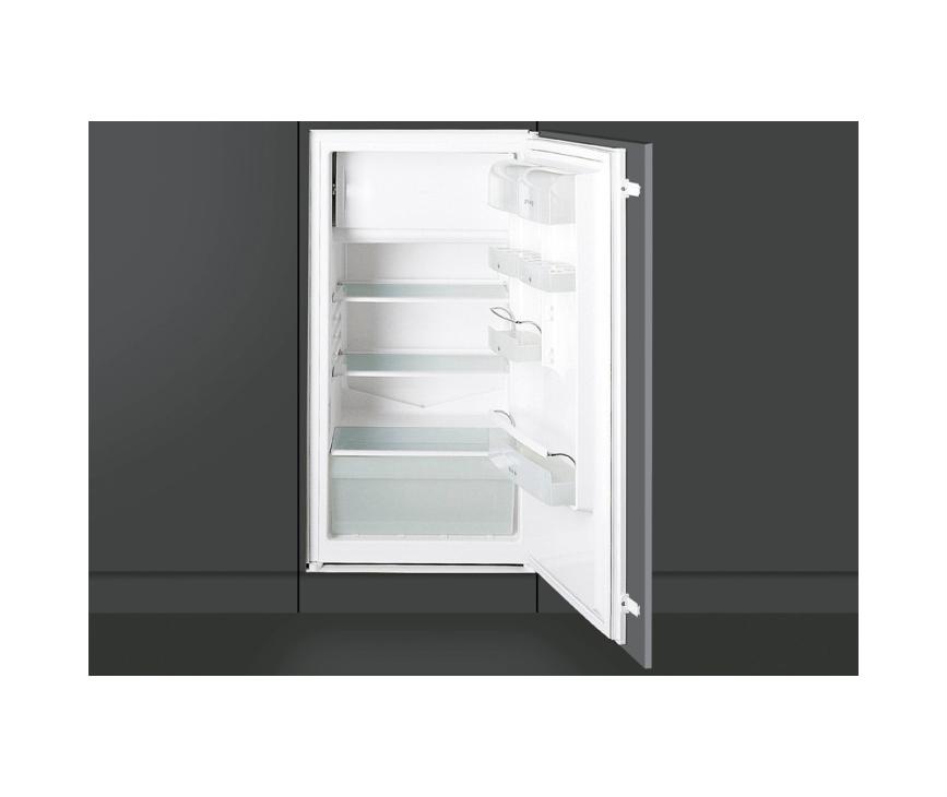 Voor de Smeg FL104AP kunt u uw eigen keukendeur weer monteren