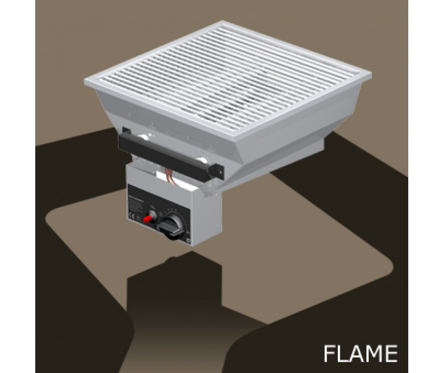 OneQ inbouw gasbarbecue type FLAME | One-Q gas bbq built-in