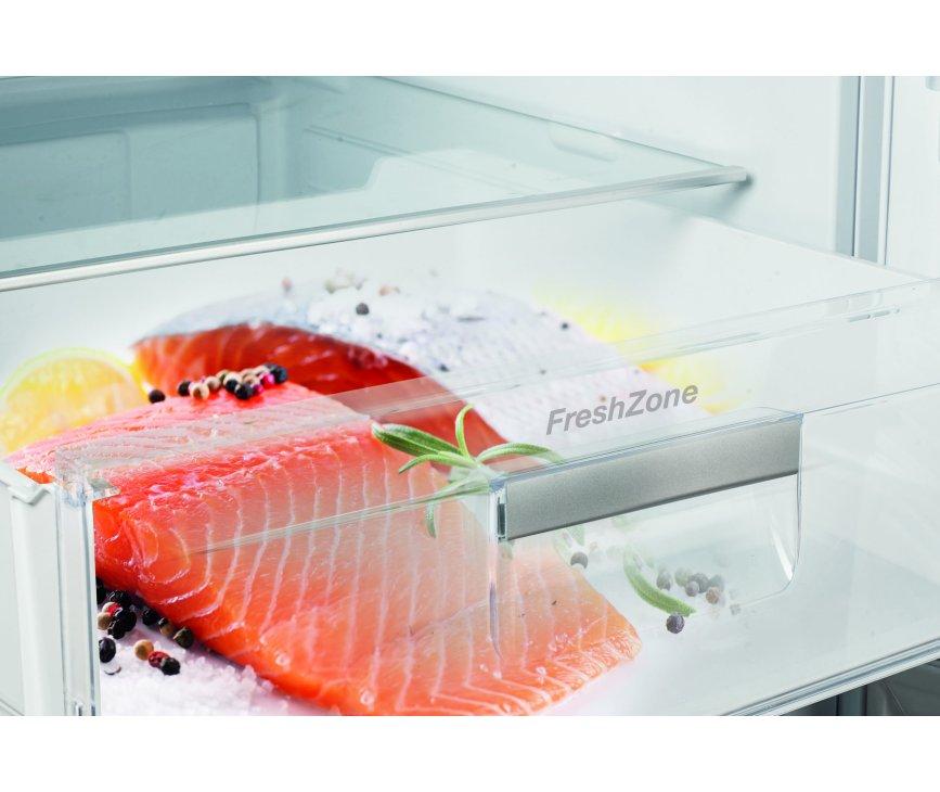 De FreshZone onderin de Gram KS 6456-90 F koelkast