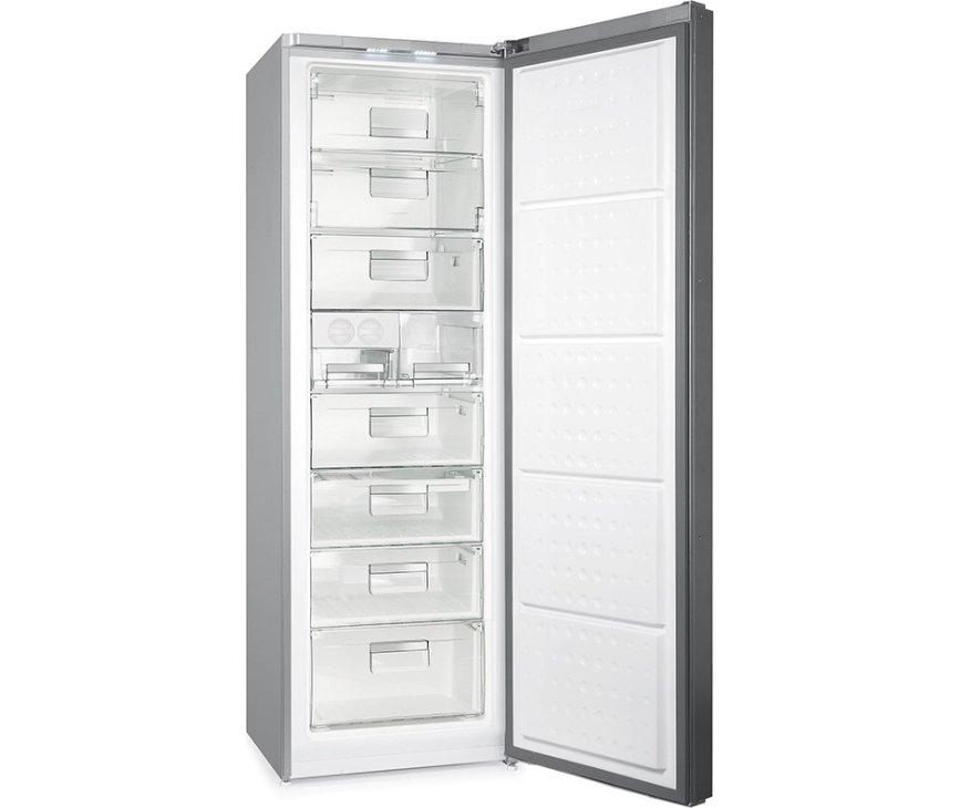 Afbeelding van de binnenzijde van Gram FS 6316-90 F X welke voorzien is van een MegaBox en Twist & Ice systeem