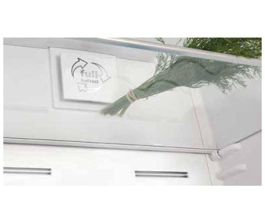 Dankzij de ventilator in de Gram KF 6406-90 FN X is er een gelijkmatige verdeling van de temperatuur in de gehele koelruimte