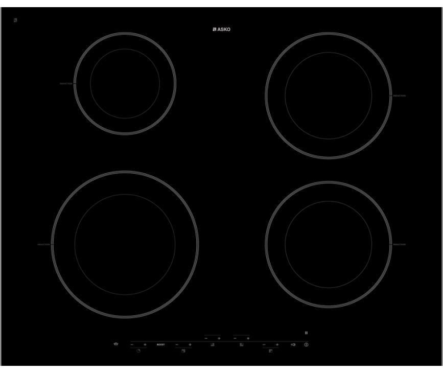 Asko HI1643G inductie kookplaat