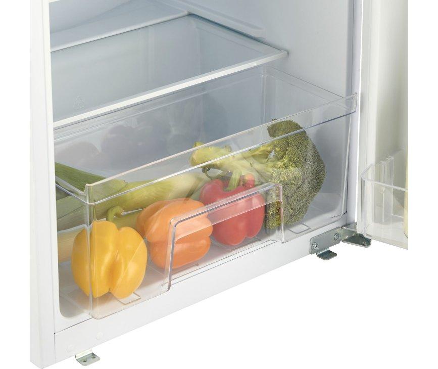 Inventum IKK0880S inbouw koelkast - sleepdeur - nis 88 cm.