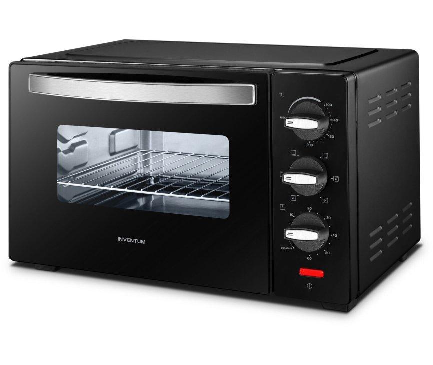 Inventum OV207B vrijstaande oven - zwart